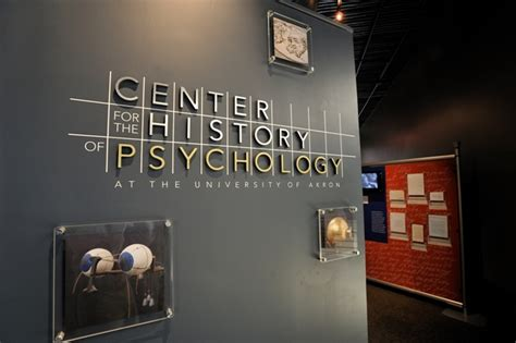 The National Museum of Psychology : The University of Akron