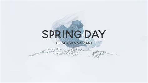 (Acoustic English Cover) BTS - Spring Day (봄날) | Elise