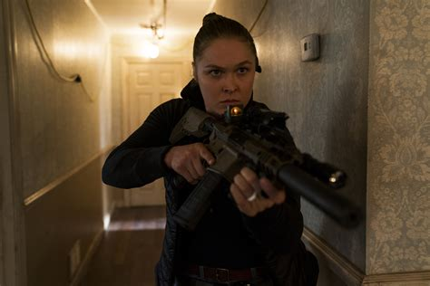 Ronda Rousey on Mile 22 and Working With Mark Wahlberg