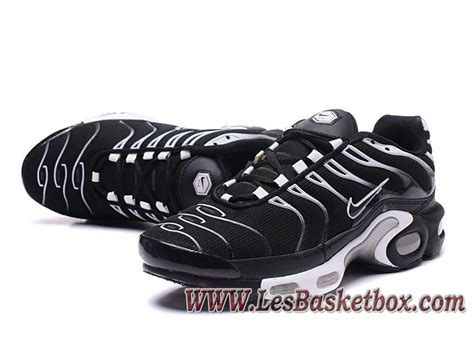 Nike Air Max Plus (Nike Tn 2017) noires Argent Chaussures