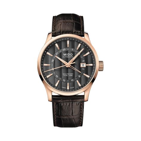 Achat Montre Mido Multifort Dual Time M038