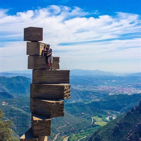 8 Stairs to Heaven (Montserrat Stairs) - Barcelona, Spain