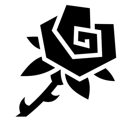 Rose icon   Game-icons