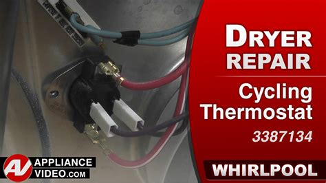 Whirlpool Dryer - Will not start - Cycling Thermostat