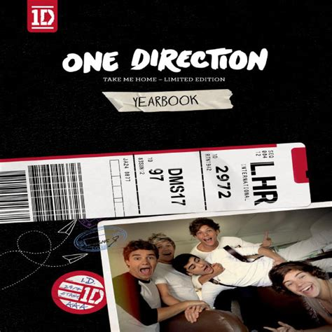 Take Me Home: Yearbook Edition   One Direction
