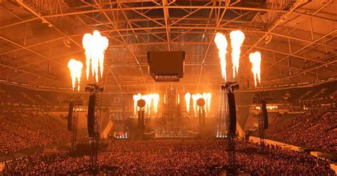 See first incredible fire fuelled pictures of Rammstein's
