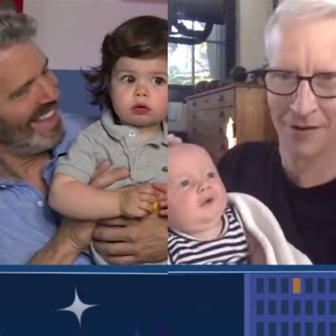 Watch Anderson Cooper and Andy Cohen's Sons Virtually Meet