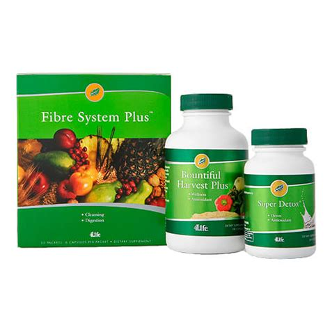 Cleanse Detox Package includes firbre system, super detox
