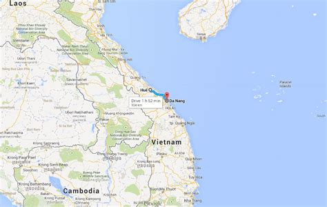 How to get from Da Nang Airport (DAD) to Hue Vietnam