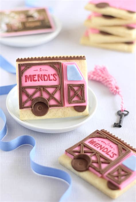 Special Delivery! Mendl's Shortdough Cookies | Sprinkle Bakes