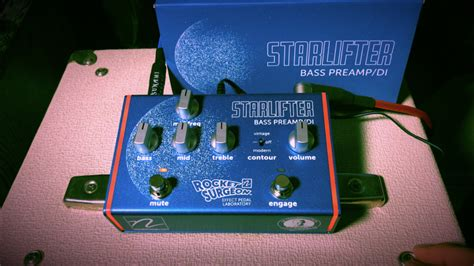 Nordstrand Audio Starlifter Bass Preamp/DI Quick Demo