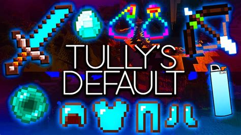 Minecraft PvP Texture Pack - Tully's Default - EPIC LOW