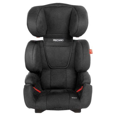 Buy Recaro Milano Group 2-3 Car Seat, Black from our All