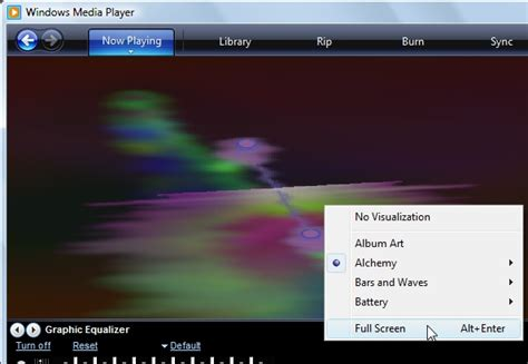 Media Player 11 Visualizations Free - The best free