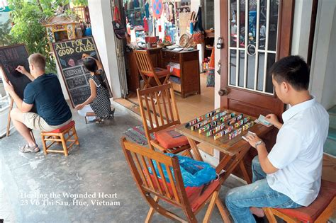 Healing the Wounded Heart Hue - Handicraft Shop in Hue