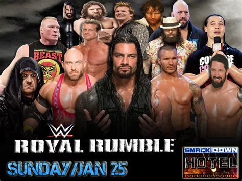 The Smackdown Hotel WWE2K15 Royal Rumble Match! - Page 3