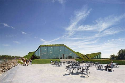 Museum covered in Grass in Netherlands | Islande