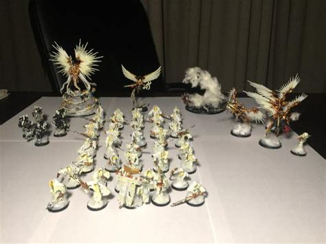 Angyls of the Emperor - a Warhammer 40K open army project