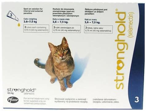 ZOETIS STRONGHOLD 45 MG SOLUTION SPOT-ON POUR CHAT DE 2,6