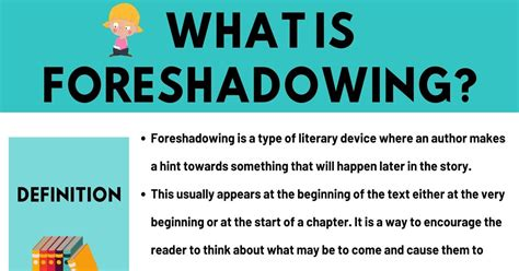 Foreshadowing: Definition & Examples Of Foreshadowing In