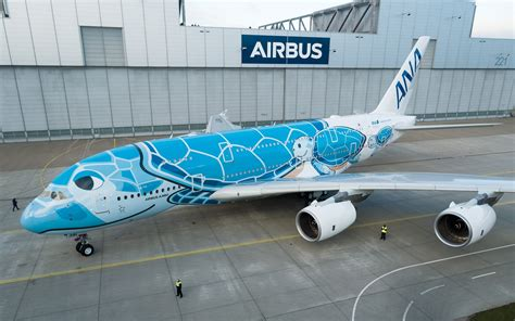First ANA A380 rolls out of Airbus Paintshop with unique