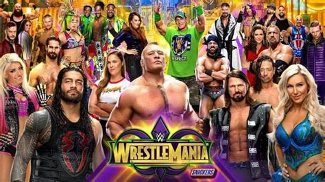 Changes made to WrestleMania 34 - here is the updated card