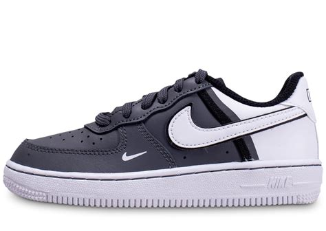 Nike Air Force One Grise noire et blanche - Chaussures