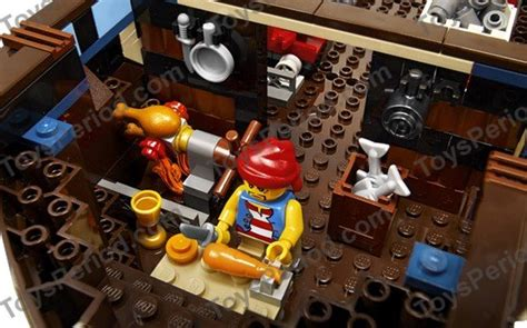 LEGO 10210 Imperial Flagship Set Parts Inventory and