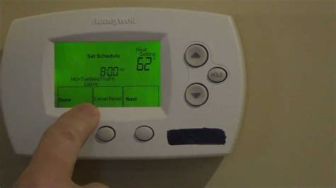 How to Program Your Thermostat - Honeywell FocusPro TH6000