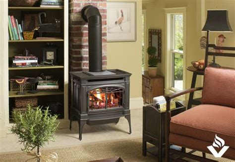 LOPI Berkshire Free Standing Fireplace   Vancouver Gas