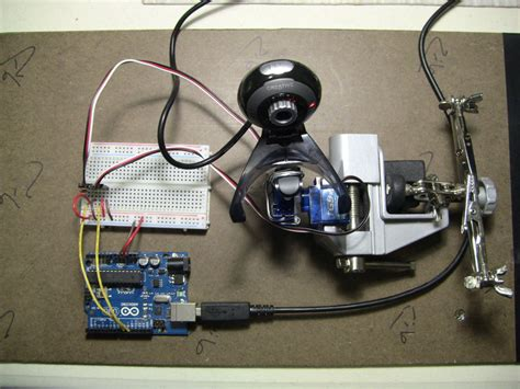 Face Detection and Tracking With Arduino and OpenCV : 4