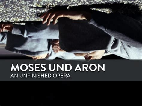 Moses and Aaron: an unfinished opera (News article