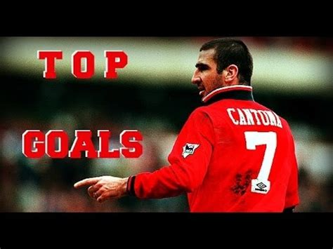 The King Cantona - Top 7 goals Manchester United - YouTube